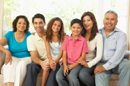 Happy Family with great financial options at Kenneth S. Gluski, D.D.S, Family Dentistry and Orthodontics